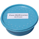 Euro Driftworms - 24 count cup
